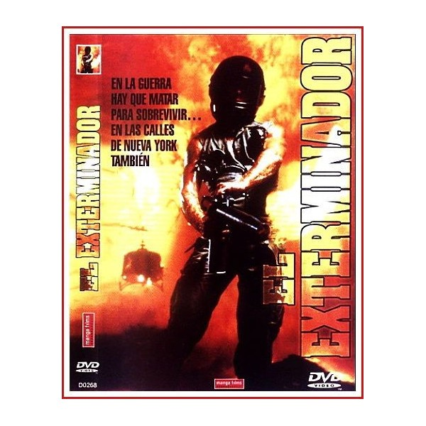 EL EXTERMINADOR 1980 DVD de Crimen-Serie B