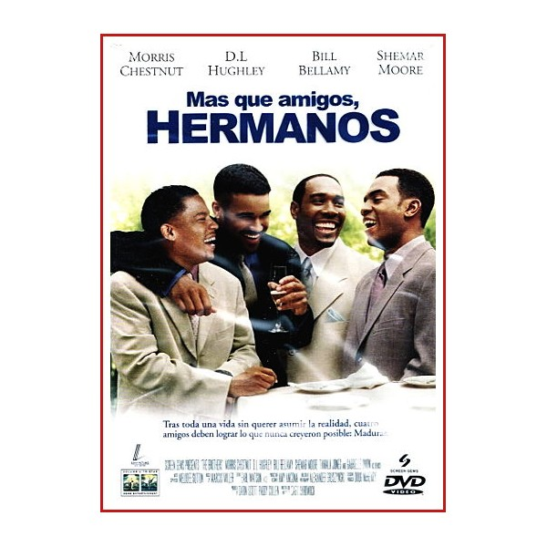 MAS QUE AMIGOS, HERMANOS DVD Comedia