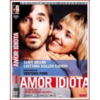 AMOR IDIOTA DVD 2005 Cine Español Dirección Ventura Pons
