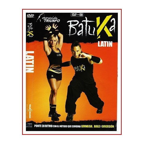 BATUKA LATIN DVD + CD