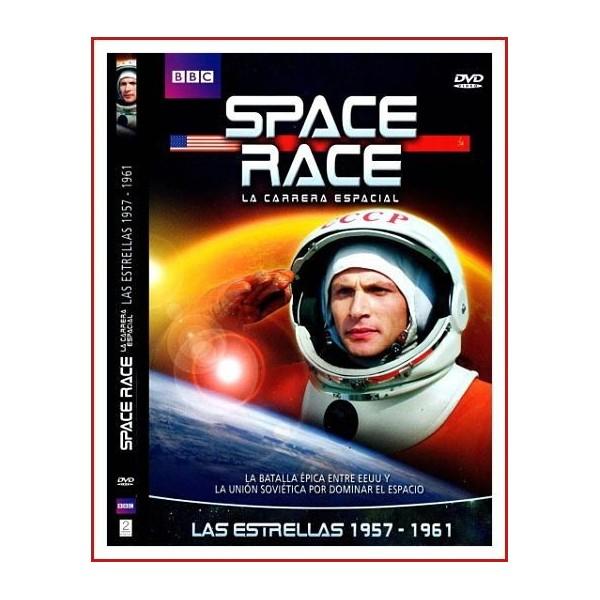 SPACE RACE (LA CARRERA ESPACIAL) LAS ESTRELLAS 1957-1961 2005 DVD