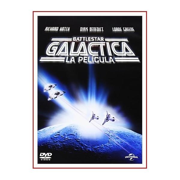 GALACTICA BATTLESTAR LA PELÍCULA 1978 DVD de Aventura espacial