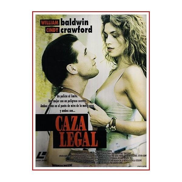 CAZA LEGAL 1995 DVD Película Policíaca)