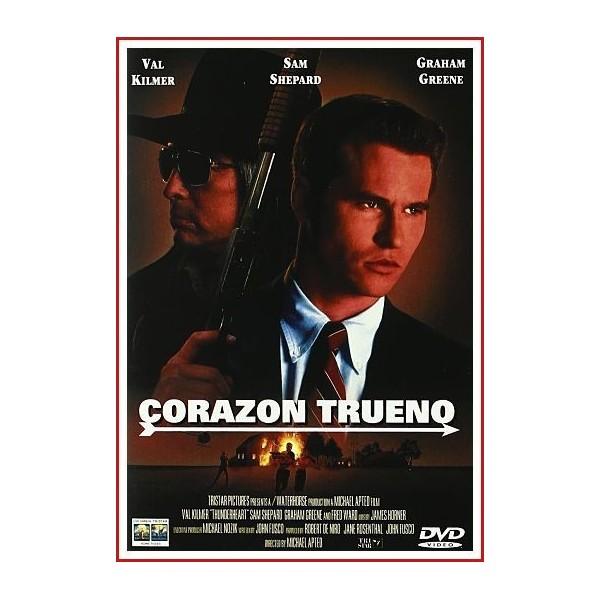 CORAZÓN TRUENO 1992 DVD Thriller, Intriga