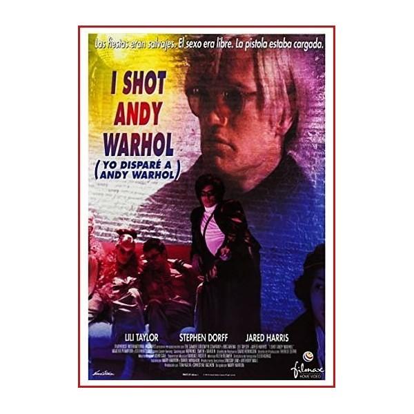 YO DISPARÉ A ANDY WARHOL (I SHOT ANDY WARHOL) 1996 DVD Biográfico, Homosexualidad, Feminismo