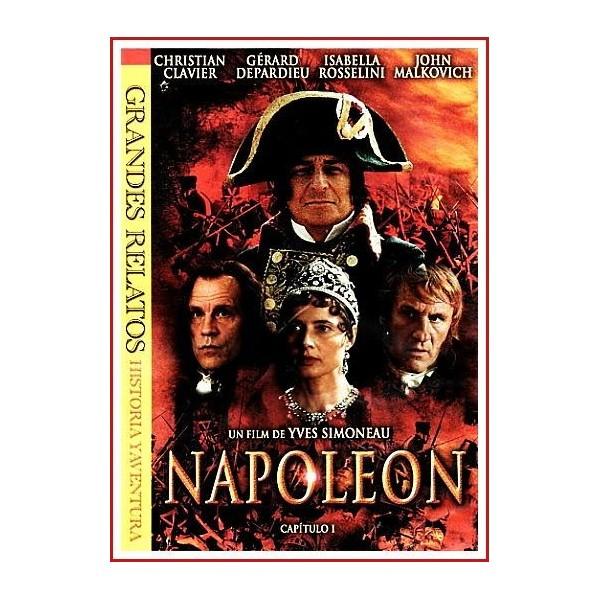 NAPOLEÓN CAPÍTULO I 2002 DVD Estuche Slim, Histórico, Biográfico