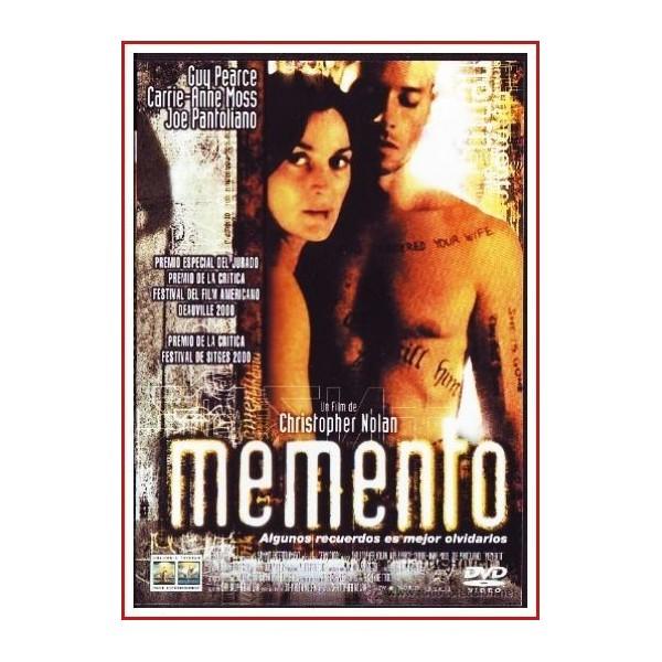 MEMENTO 2000 DVD Película de culto, Cine independiente