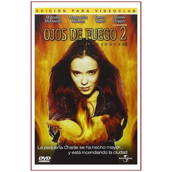OJOS DE FUEGO 2 2002 DVD Thriller, Telefilm