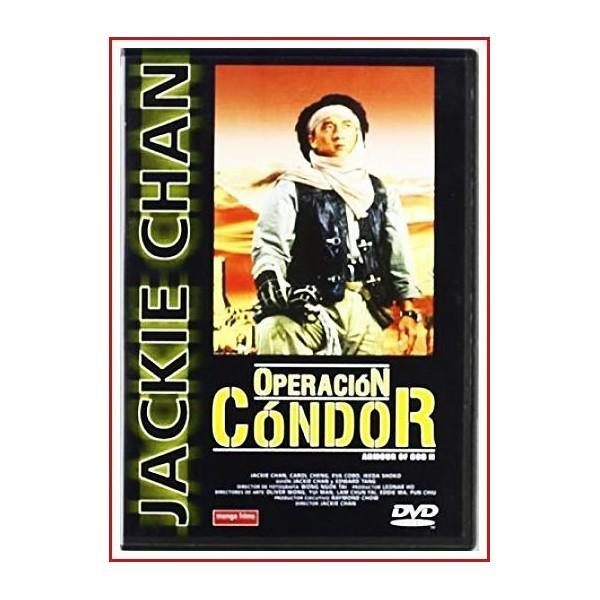 OPERACIÓN CONDOR (La armadura de Dios II) 1991 DVD Artes marciales