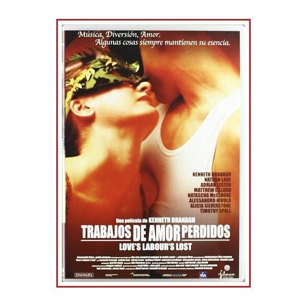 TRABAJOS DE AMOR PERDIDOS 2000 DVD Musical, Drama romántico