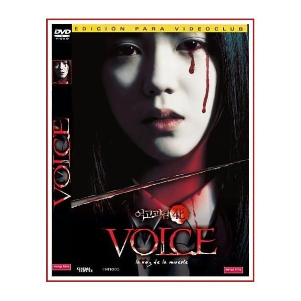 VOICE LA VOZ DE LA MUERTE 2005 DVD Terror, Sobrenatural
