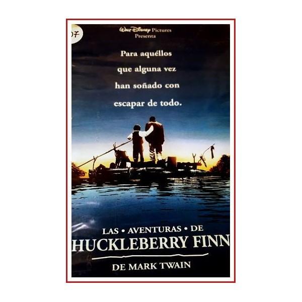 LAS AVENTURAS DE HUCKLEBERRY FINN 1993 DVD Racismo, Esclavitud