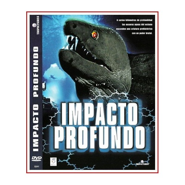 IMPACTO PROFUNDO 2003 DVD Terror, Monstruos