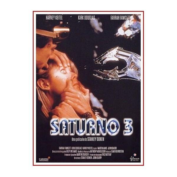 SATURNO 3 1979 DVD Thriller, Robots