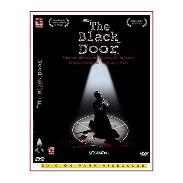 THE BLACK DOOR (La puerta negra) 2001 DVD Falso documental, Sectas