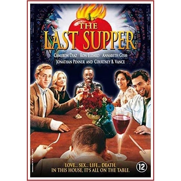 THE LAST SUPPER (LA ÚLTIMA CENA) 1995 DVD Comedia negra