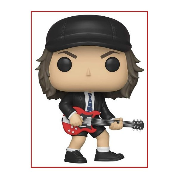 Funko- Pop Vinyl: Rocks: AC/DC: Angus Young w/Chase
