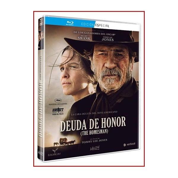 DEUDA DE HONOR (THE HOMESMAN) BLU RAY