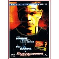 BOURNE EDICIÓN COLECCIONISTA 3 DVD Dirección Doug Liman y Paul Greengrass