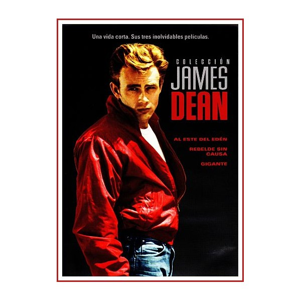 COLECCIÓN JAMES DEAN 3 DVD 1955 a 1956