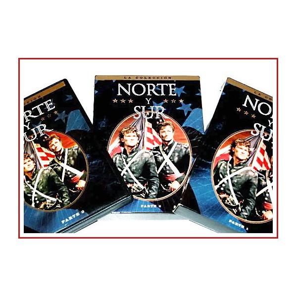 NORTE Y SUR PACK COMPLETO 8 DVD 1985 Dirección Richard T. Heffron