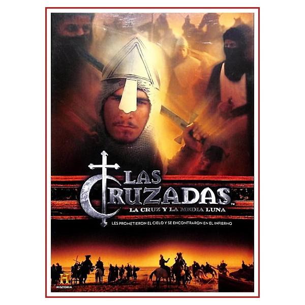 LAS CRUZADAS DVD LA CRUZ Y LA MEDIA LUNA Dirección Stuart Elliott, Mark Lewis