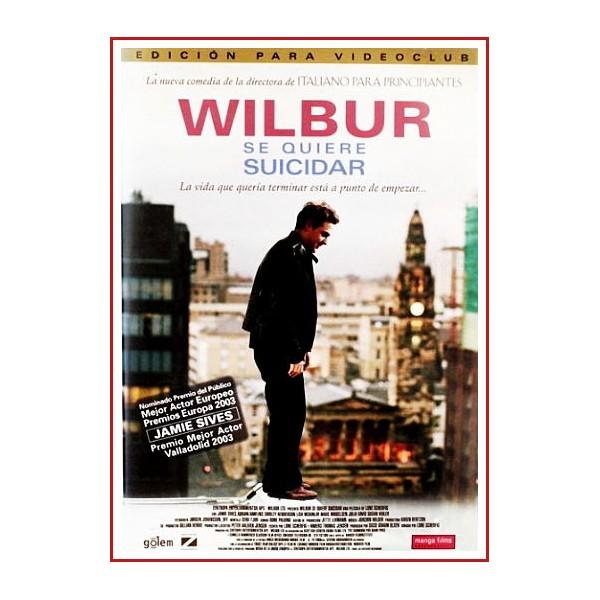 WILBUR SE QUIERE SUICIDAR DVD 2002 Dirección Lone Scherfig