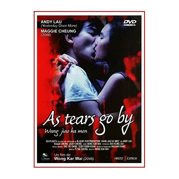 AS TEARS GO BY (Wong gok ka moon) DVD 1988 Dirección Wong Kar-Wai