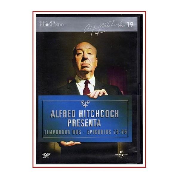 ALFRED HITCHCOCK PRESENTA TEMPORADA DOS EPISODIOS 73-75 DISCO 19