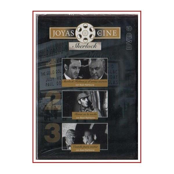 JOYAS DEL CINE SHERLOCK HOLMES DVD Nº5