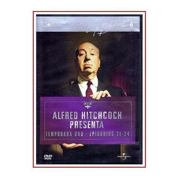 ALFRED HITCHCOCK PRESENTA TEMPORADA UNO EPISODIOS 21-24 DISCO 06