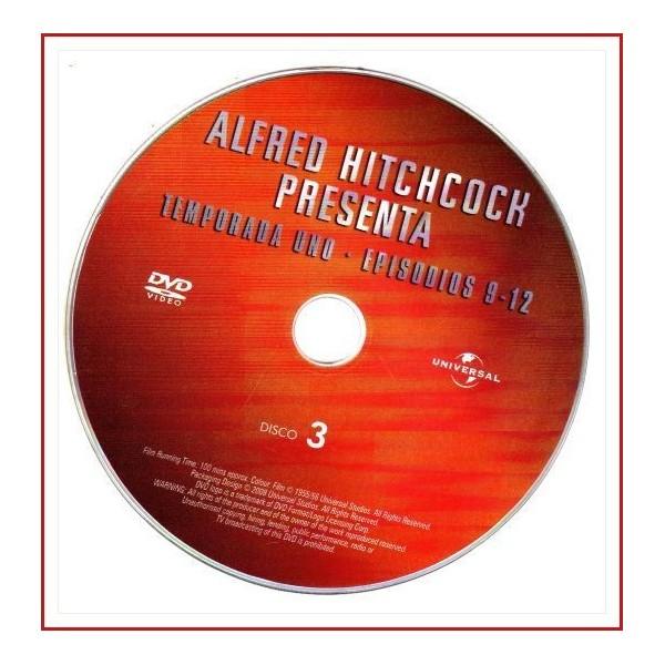 ALFRED HITCHCOCK PRESENTA TEMPORADA UNO EPISODIOS 9-12 DISCO 03