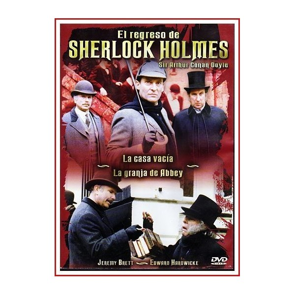 EL REGRESO DE SHERLOCK HOLMES SIR ARTHUR CONAN DOYLE-3 1986 DVD Serie