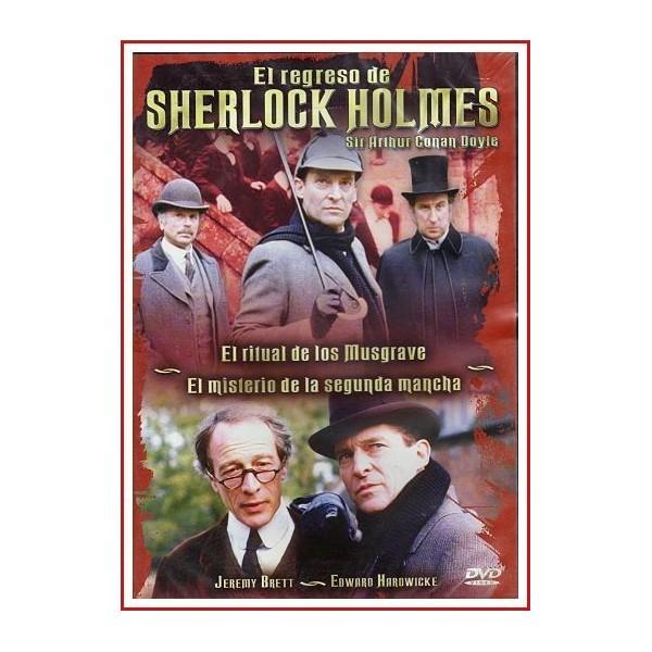 EL REGRESO DE SHERLOCK HOLMES SIR ARTHUR CONAN DOYLE-4 1986 DVD Serie