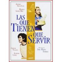LAS QUE TIENEN QUE SERVIR 1967 DVD Servicio interno. Estuche Slim