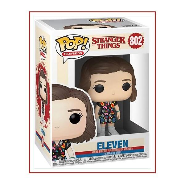 Stranger Things: Eleven in Mall Outfit FUNKO POP De la colección Stranger Things. Eleven como figura de vinilo POP de Funko. La