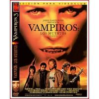 VAMPIROS LOS MUERTOS DVD 2002 Dirección Tommy Lee Wallace
