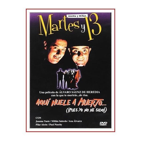MARTES Y 13 AQUÍ HUELE A MUERTO... (¡Pues yo no he sido!) DVD El arruinado conde Capra Negra y su criado viajan al norte de...