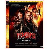 ISI DISI ALTO VOLTAJE DVD Tras despedir al difunto Eugenio (padre de isi) disparando un cañón y derrumbando un mausoleo de inca