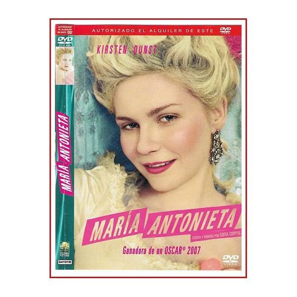 MARIA ANTONIETA DVD 2006 Dirección Sofia Coppola