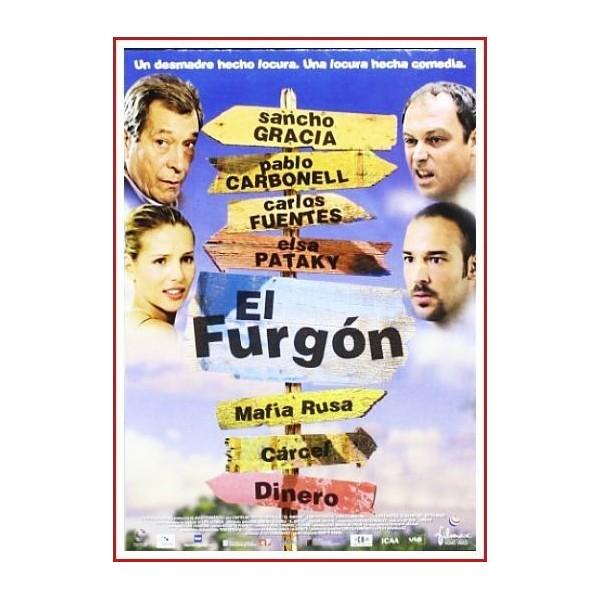 EL FURGÓN DVD 2003 - Como consecuencia de un accidente de tráfico, tres delincuentes logran escapar del furgón que los llevaba a