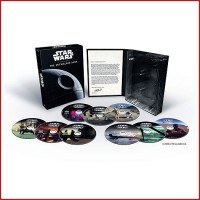 STAR WARS PACK THE SKYALKER SAGA 9 PELÍCULAS DVD