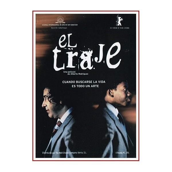 EL TRAJE DVD 2002 - Patricio es un inmigrante africano. Pan con Queso, un buscavidas. La ciudad de Sevilla, una jungla...