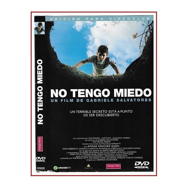 NO TENGO MIEDO DVD CARATULA ORIGINAL