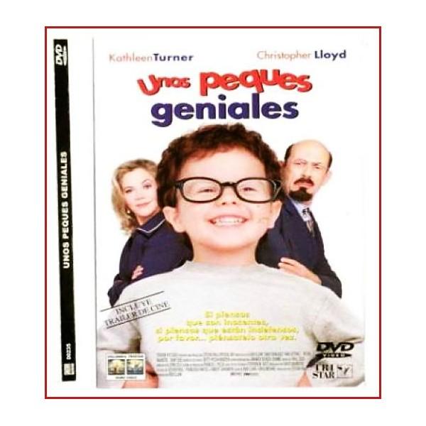UNOS PEQUES GENIALES (Baby Geniuses) DVD 1999 Comedia Infantil