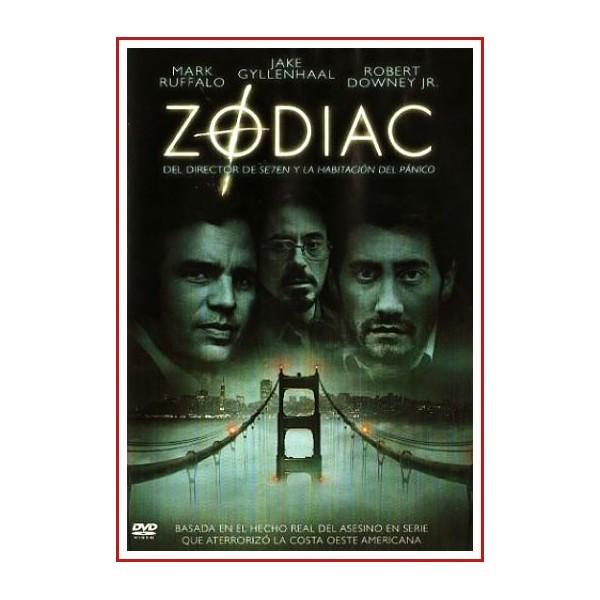 ZODIAC DVD 2007 Dirección David Fincher