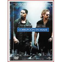 CARATULA DVD CORRUPCIÓN EN MIAMI