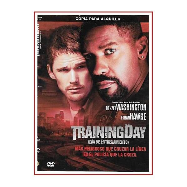 CARATULA ORIGINAL DVD TRAININGDAY