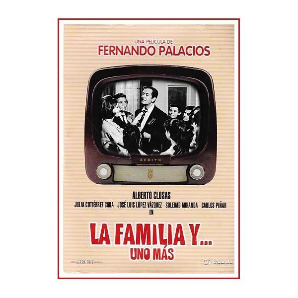 LA FAMILIA Y UNO MÁS Dvd 1965 Dirigida por Fernando Palacios