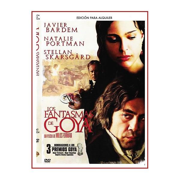 LOS FANTASMAS DE GOYA DVD 2006 Dirigida por Milos Forman